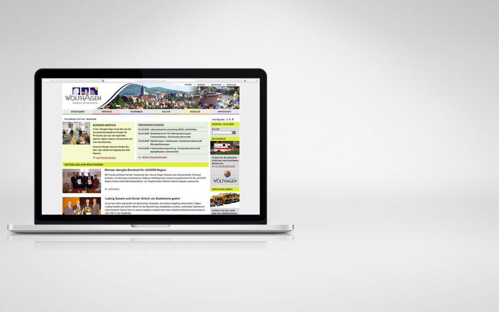 Webdesign Weblication