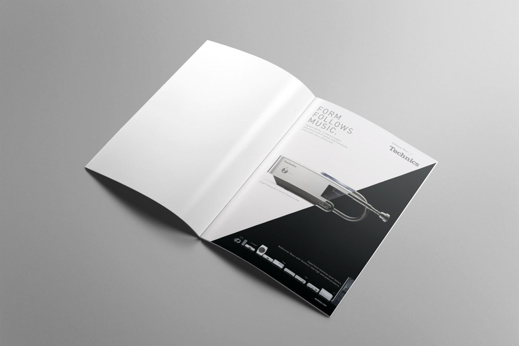 Technics Anzeigenserie