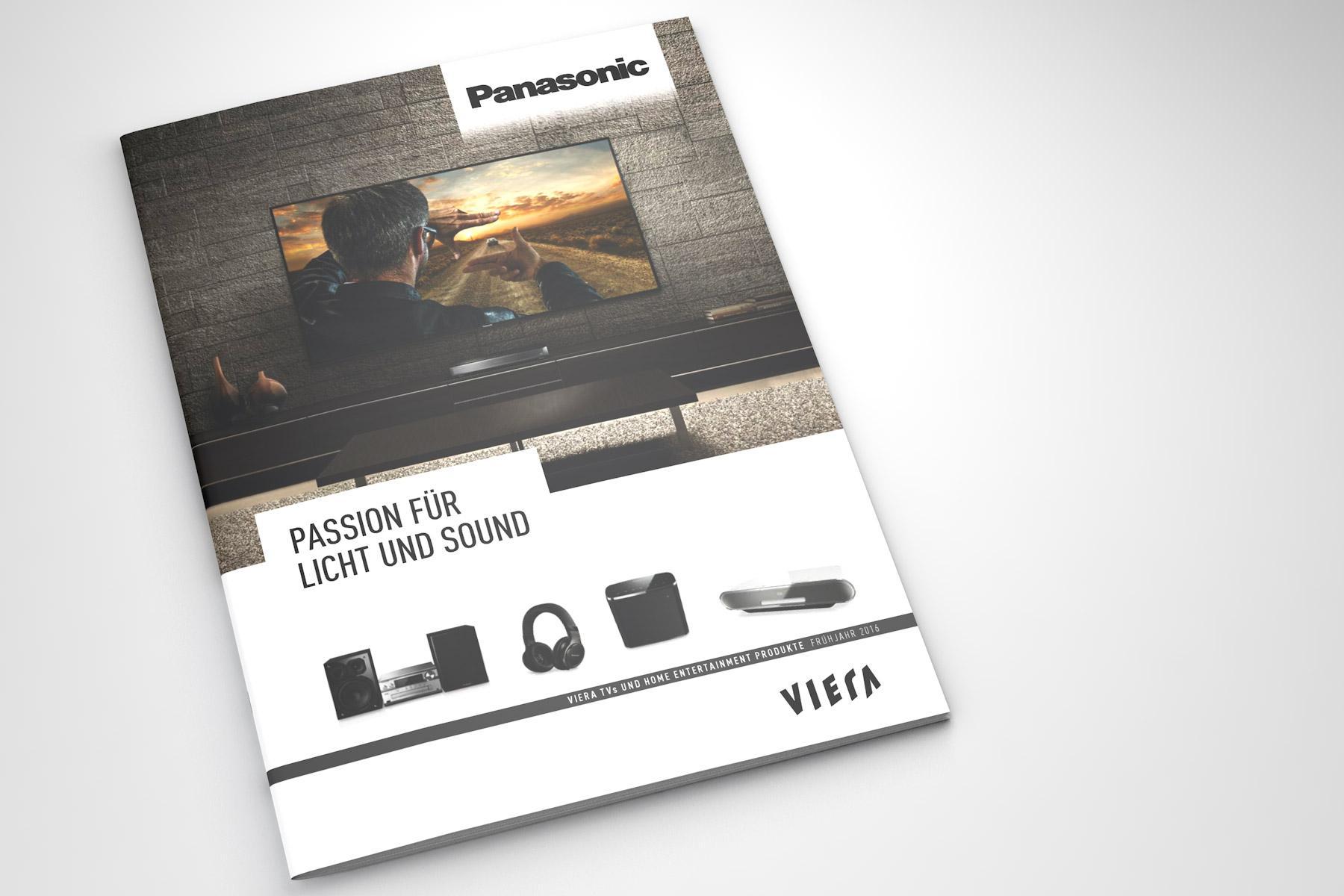 Panasonic Home Entertainment Broschüre