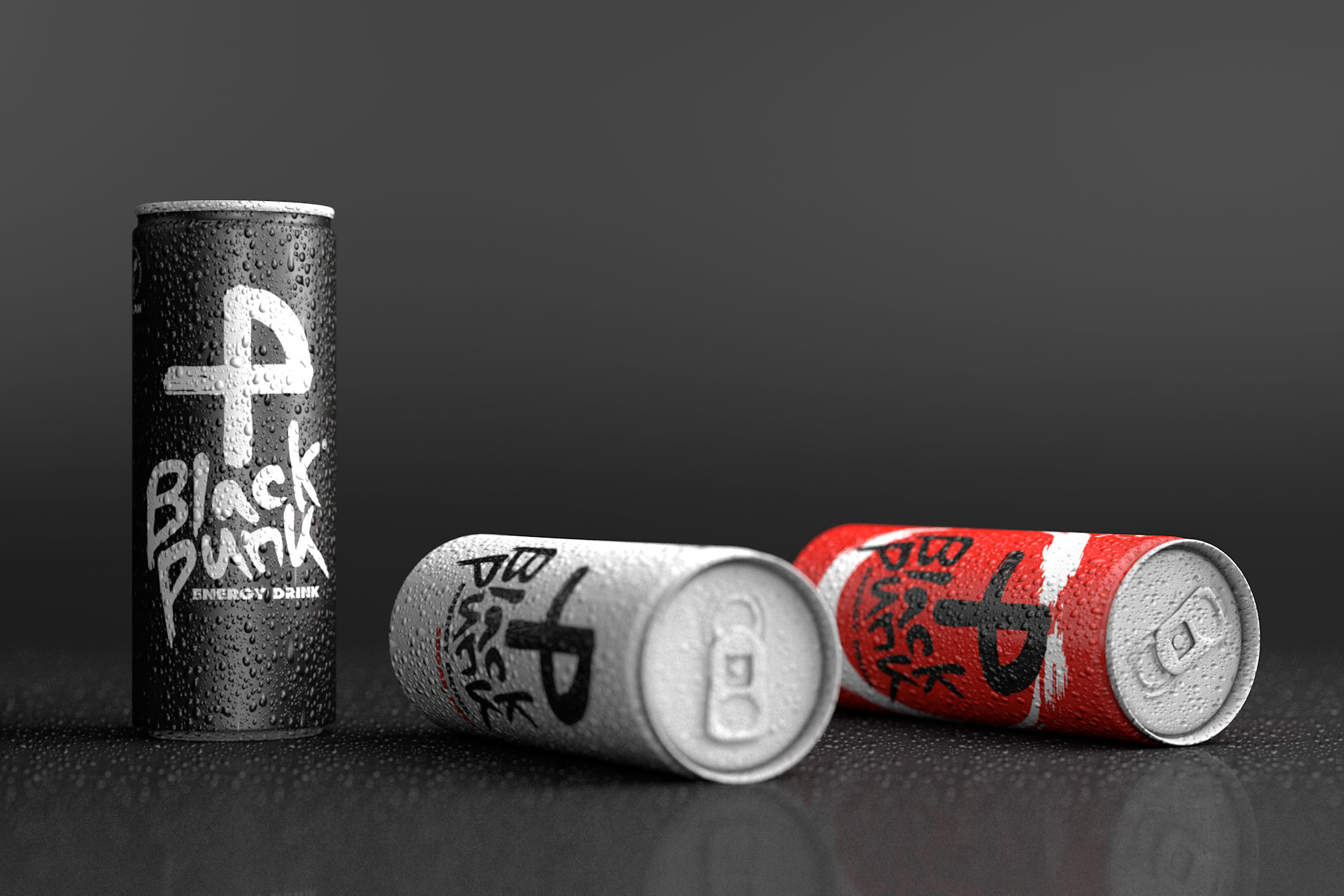 Black Punk Energy Drink