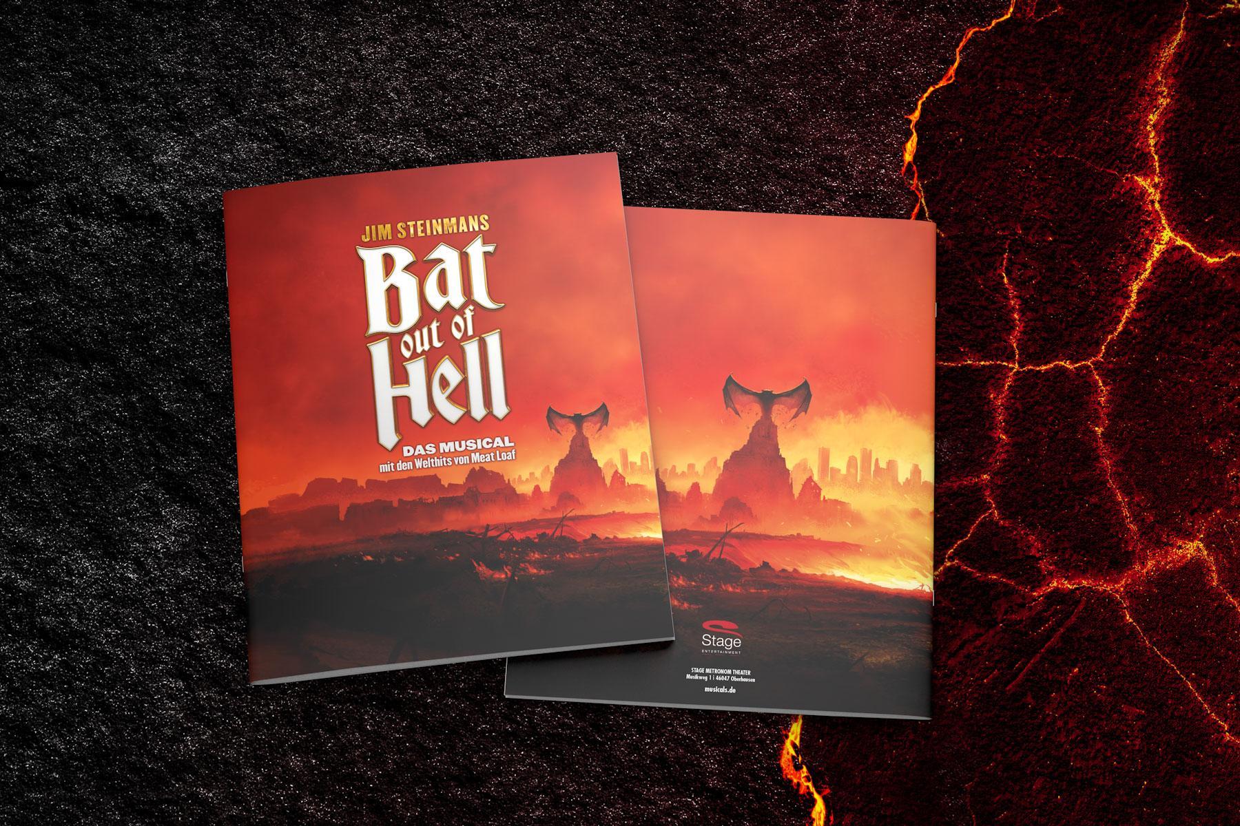 Bat out of Hell Reinzeichnung